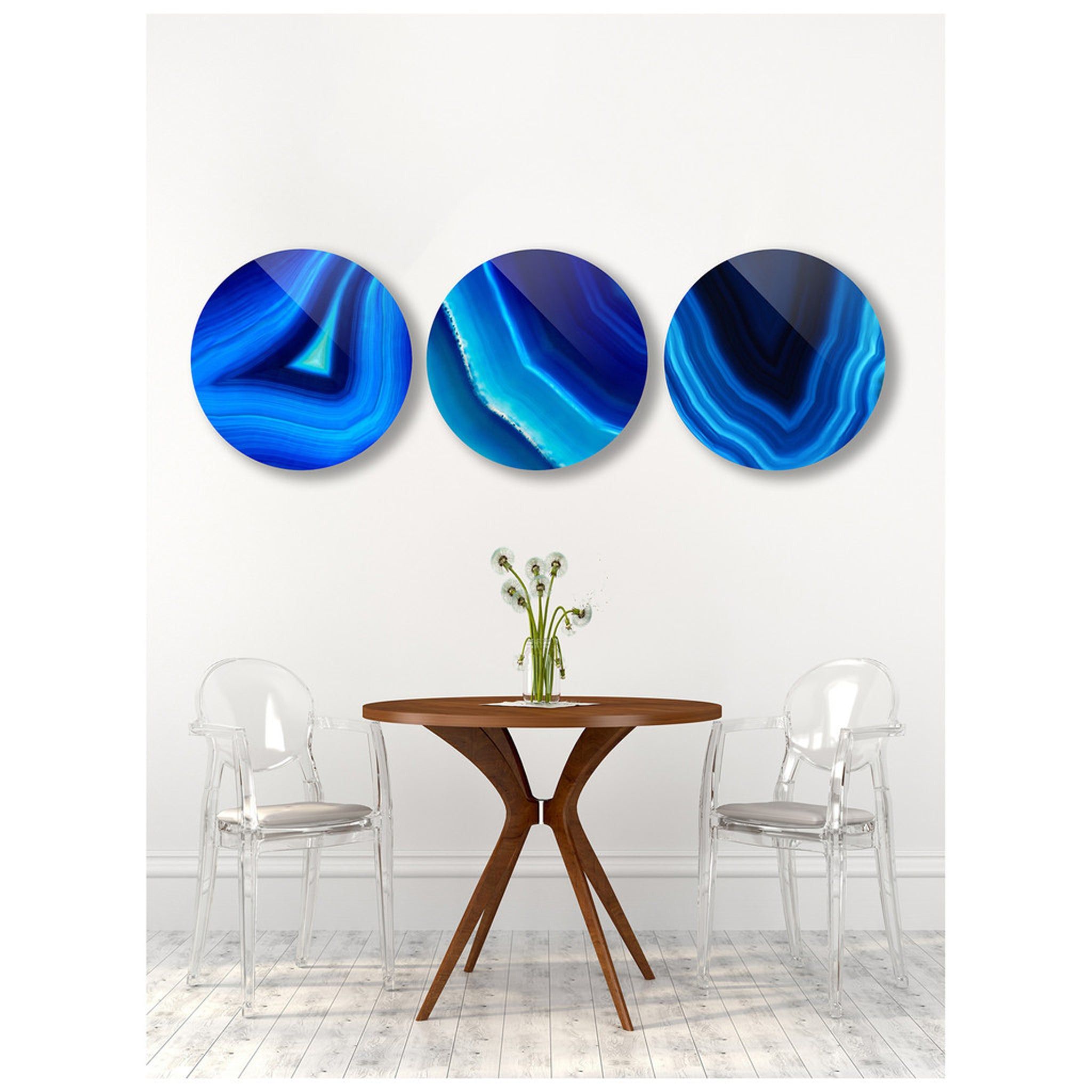 Beautiful Blues (Set of 3)