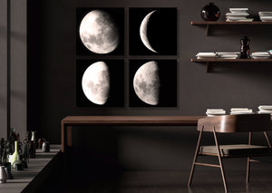 Classic Moon (Set of 4)