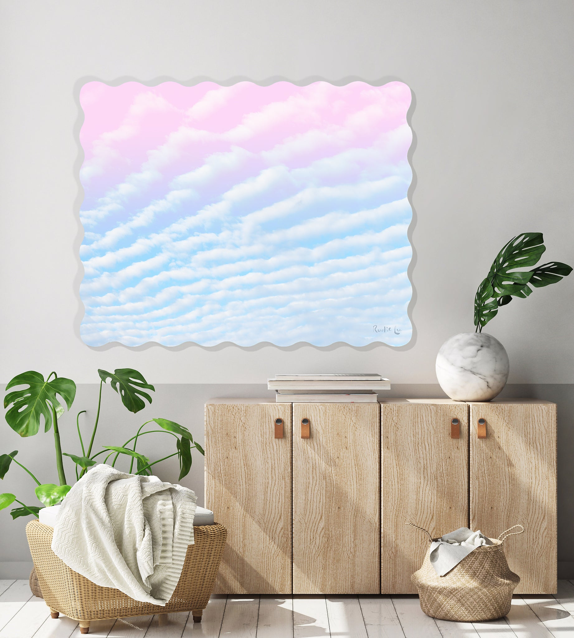 Cotton Candy Sky No. 03 by Rudie Lee