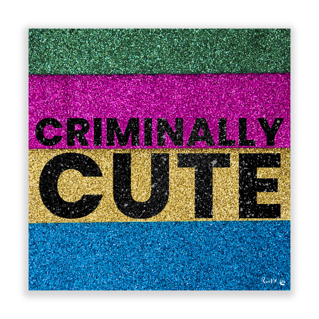 Criminally Cute (Multi) by Rudie Lee