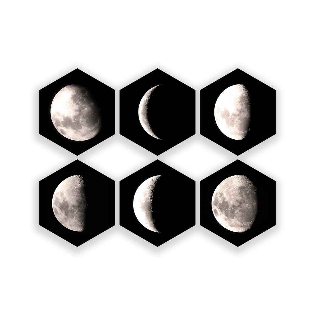 Diamond Moons (Set of 6)