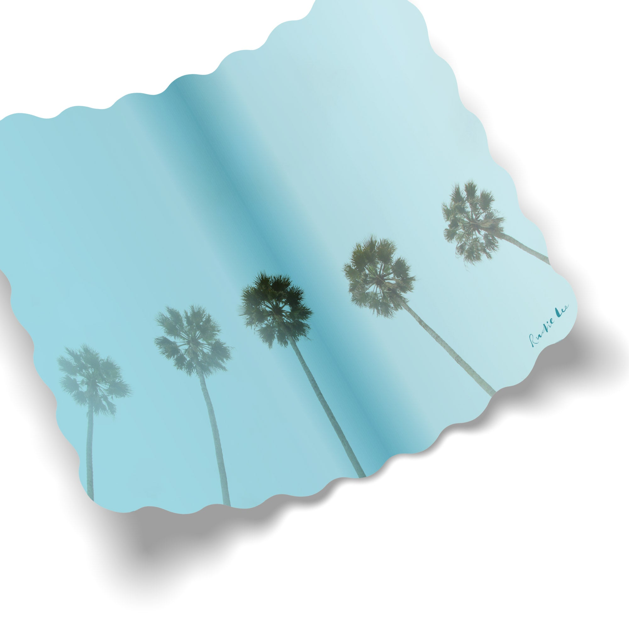 Easy Palm Trees No. 01 by Rudie Lee