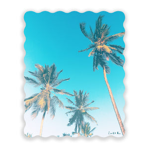 Easy Palm Trees No. 02 by Rudie Lee