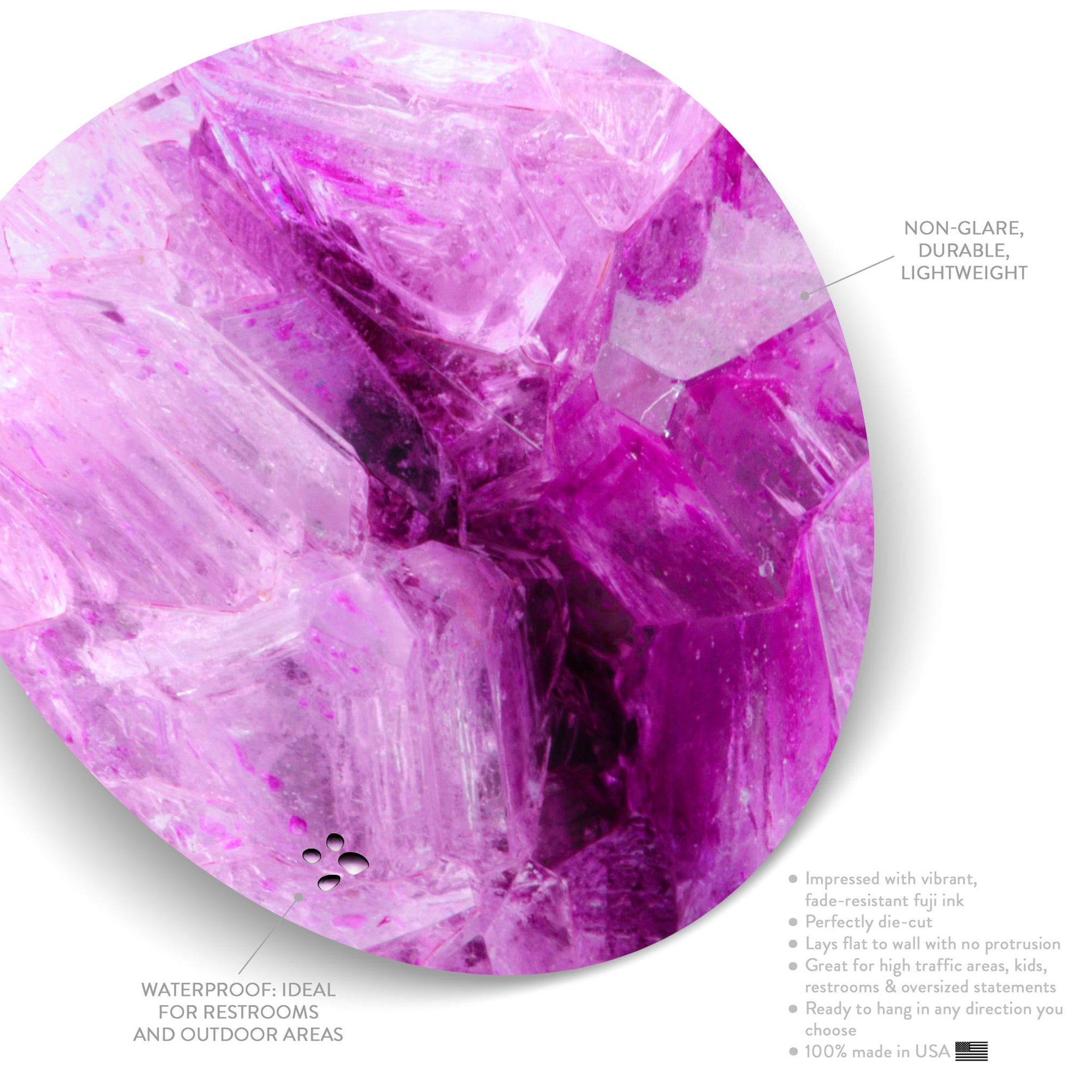 Electric Violet (Circle)