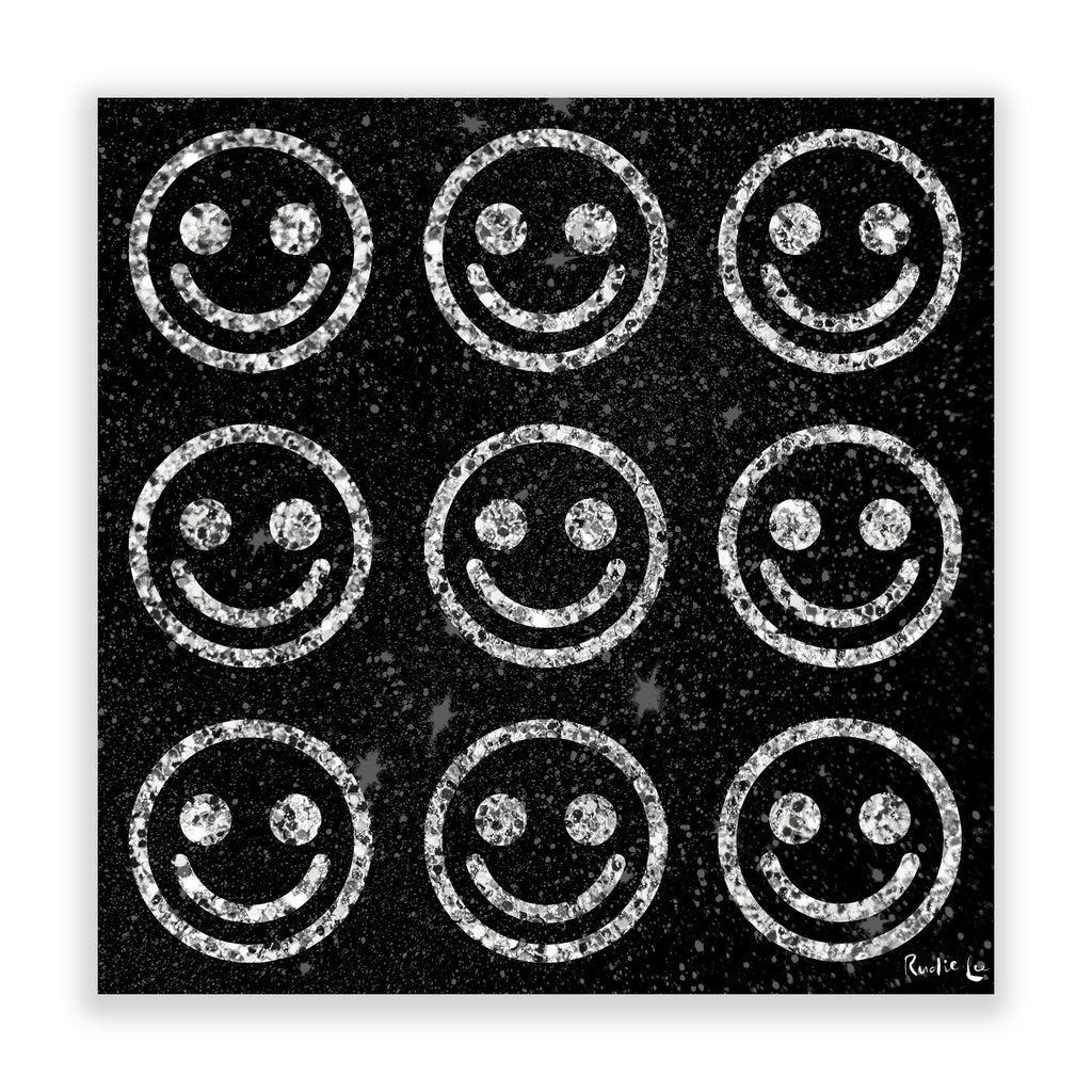 Emoti Smiley (Black) by Rudie Lee