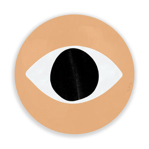 Evil Eye (Neutral) (Circle) by Rudie Lee