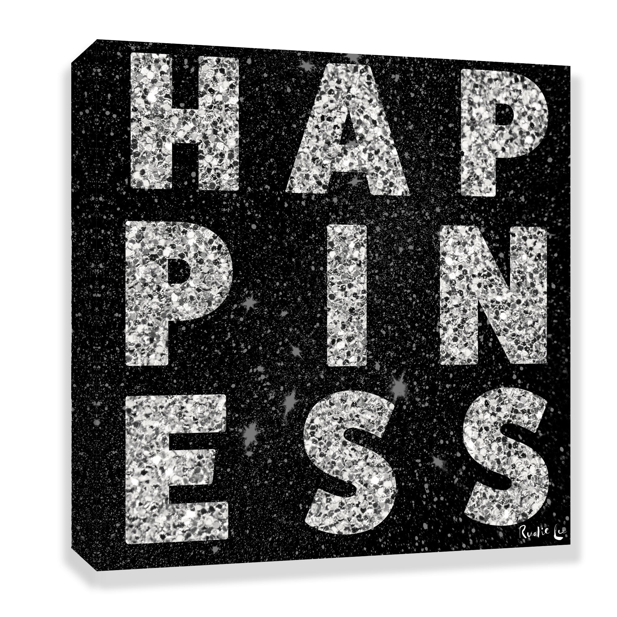 Happiness (Black) by Rudie Lee