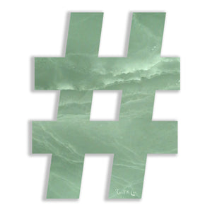Hashtag (Luxe Green) by Rudie Lee
