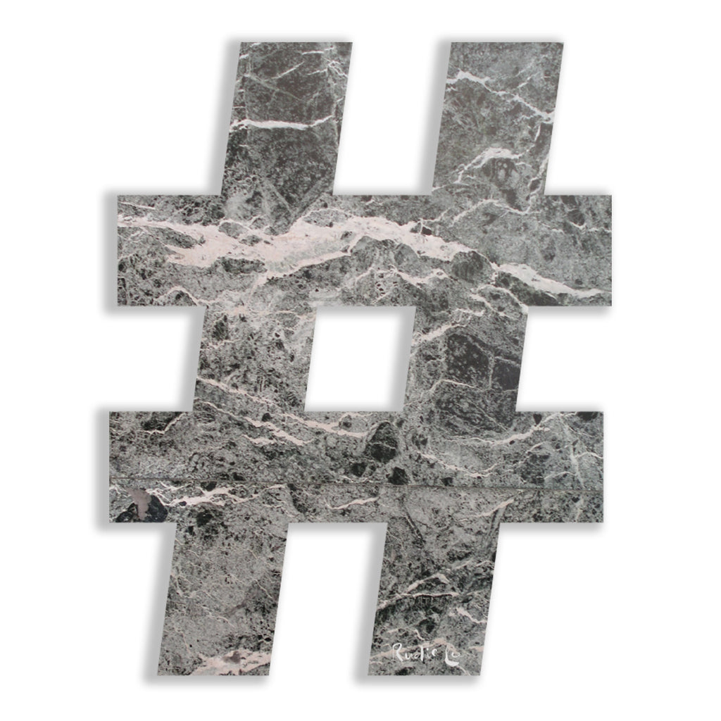 Hashtag (Luxe Stone) by Rudie Lee