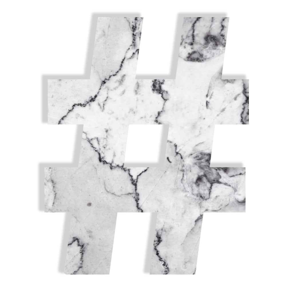 Hashtag (Luxe White) by Rudie Lee
