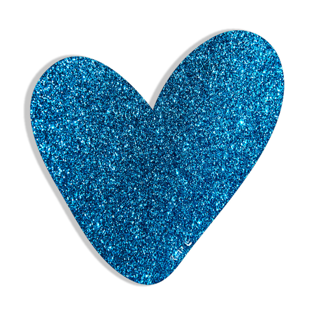 Heart (Blue) by Rudie Lee
