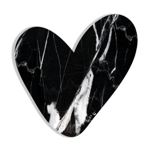 Heart (Luxe Black) by Rudie Lee