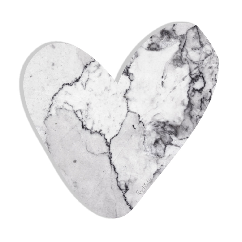 Heart (Luxe White) by Rudie Lee