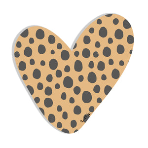 Heart (Safari Cheetah) by Rudie Lee
