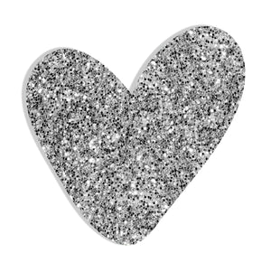 Heart (Silver) by Rudie Lee