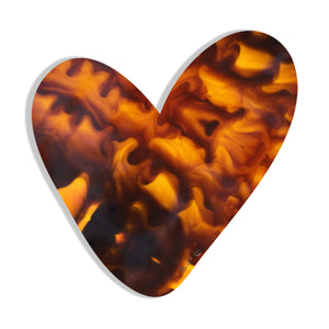 Heart (Tortoise Shell) by Rudie Lee