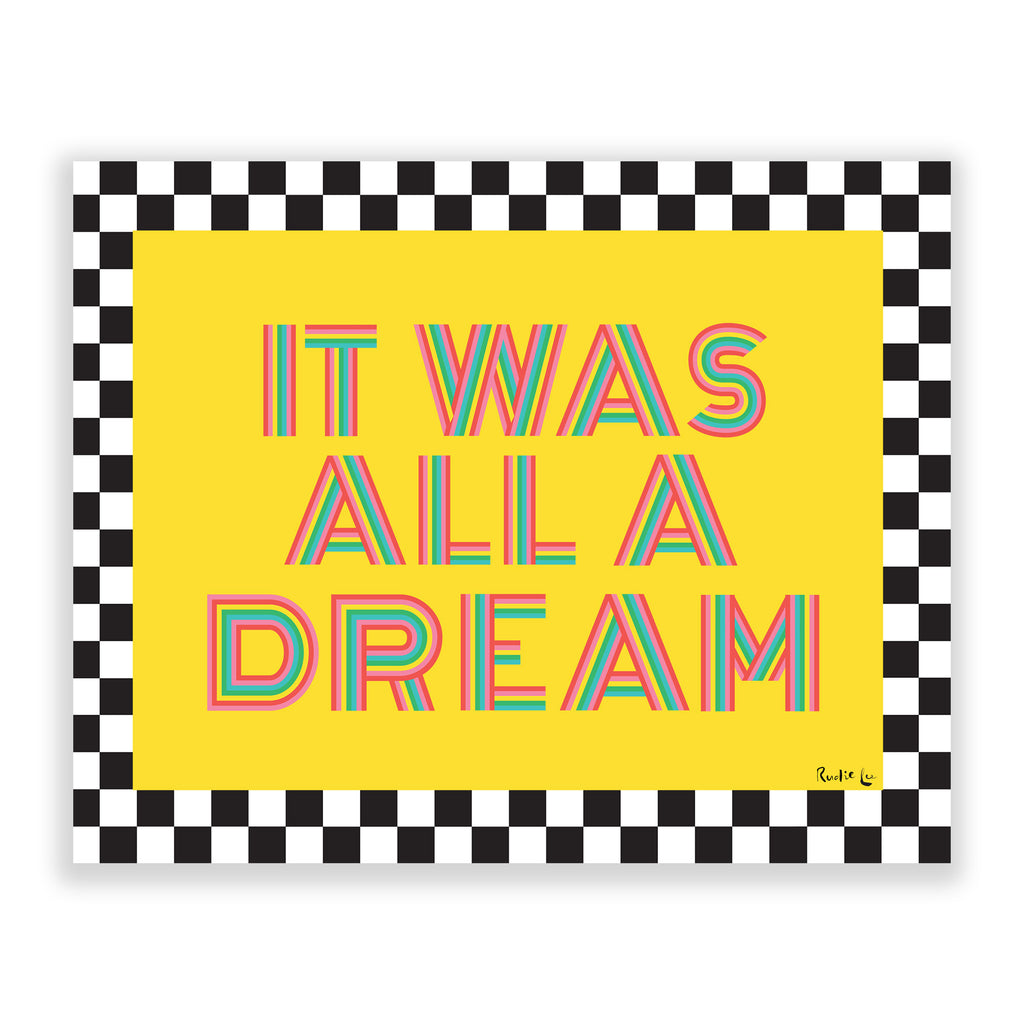It Was All A Dream (Zing) by Rudie Lee
