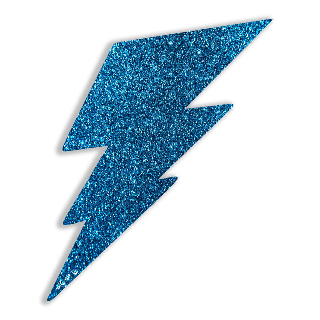 Lightning Bolt No. 02 (Blue) by Rudie Lee