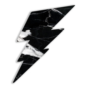 Lightning Bolt No. 02 (Luxe Black) by Rudie Lee