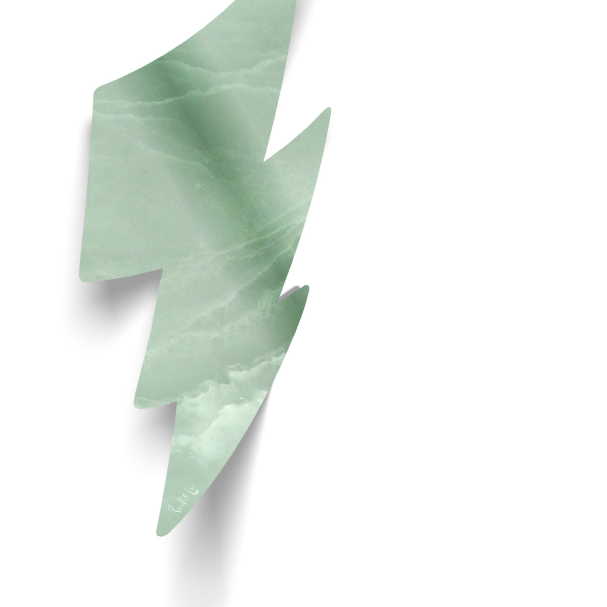 Lightning Bolt No. 02 (Luxe Green) by Rudie Lee