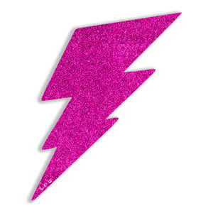 Lightning Bolt No. 02 (Pink) by Rudie Lee