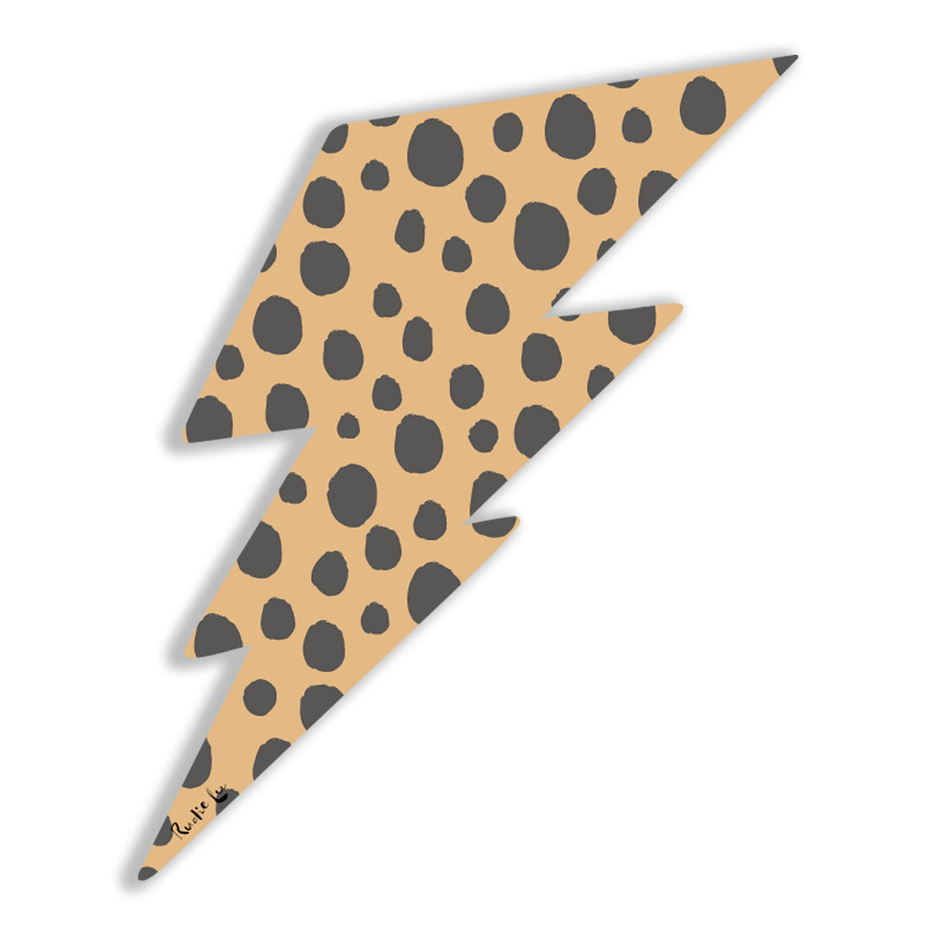 Lightning Bolt No. 02 (Safari Cheetah) by Rudie Lee