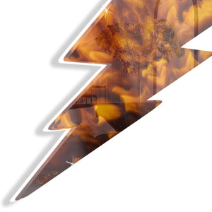 Lightning Bolt No. 02 (Tortoise Shell) by Rudie Lee