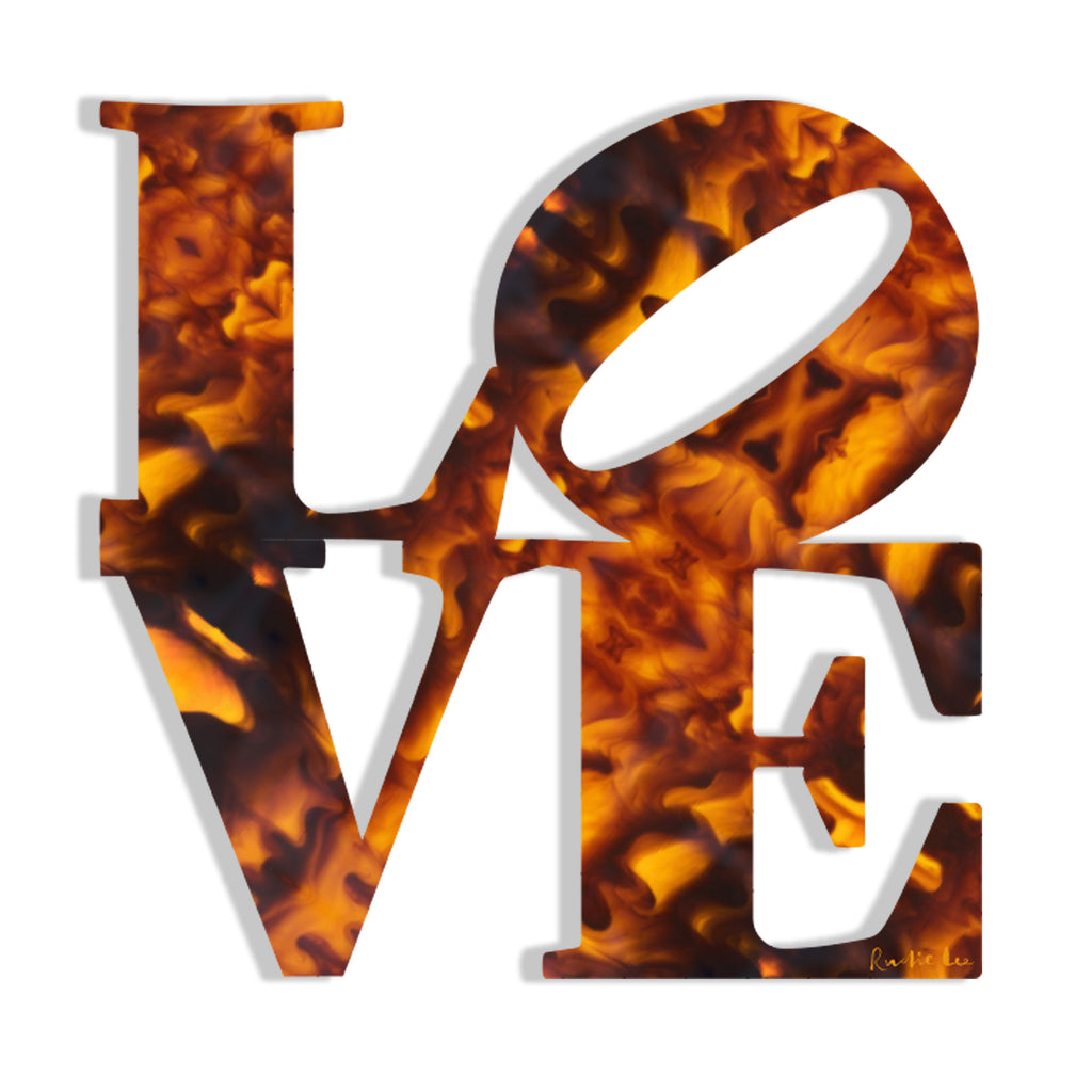 Love (Tortoise Shell) by Rudie Lee