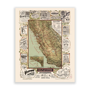 Map of California No. 01