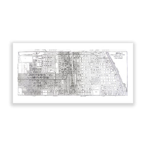 Map of Chicago No. 02