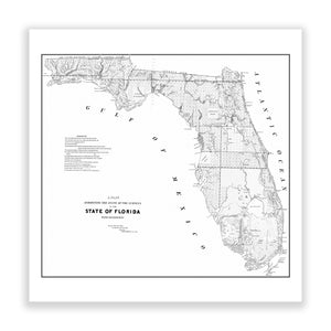 Map of Florida No. 02
