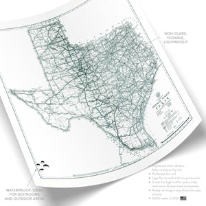Map of Texas No. 01