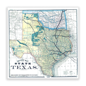 Map of Texas No. 02