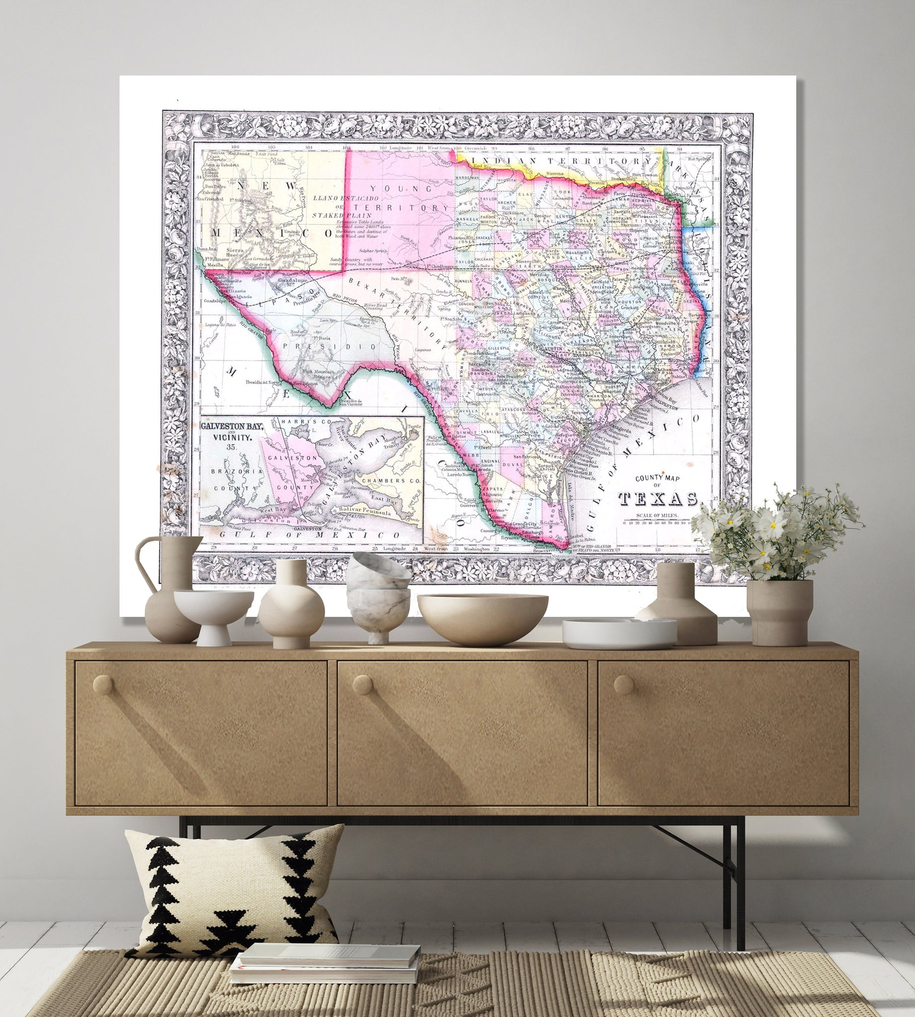 Map of Texas No. 03