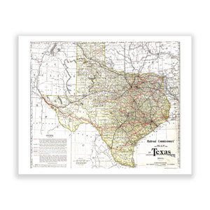 Map of Texas No. 04