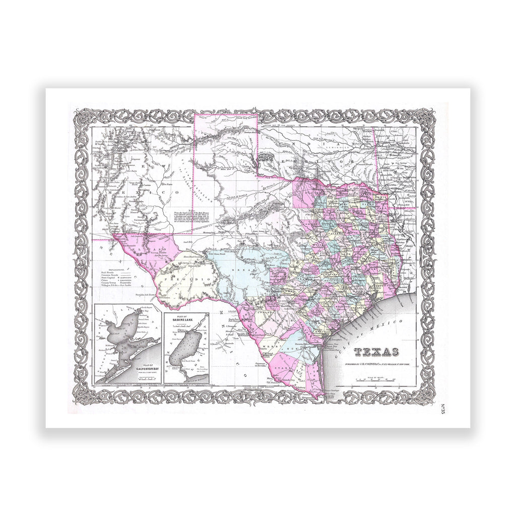 Map of Texas No. 05