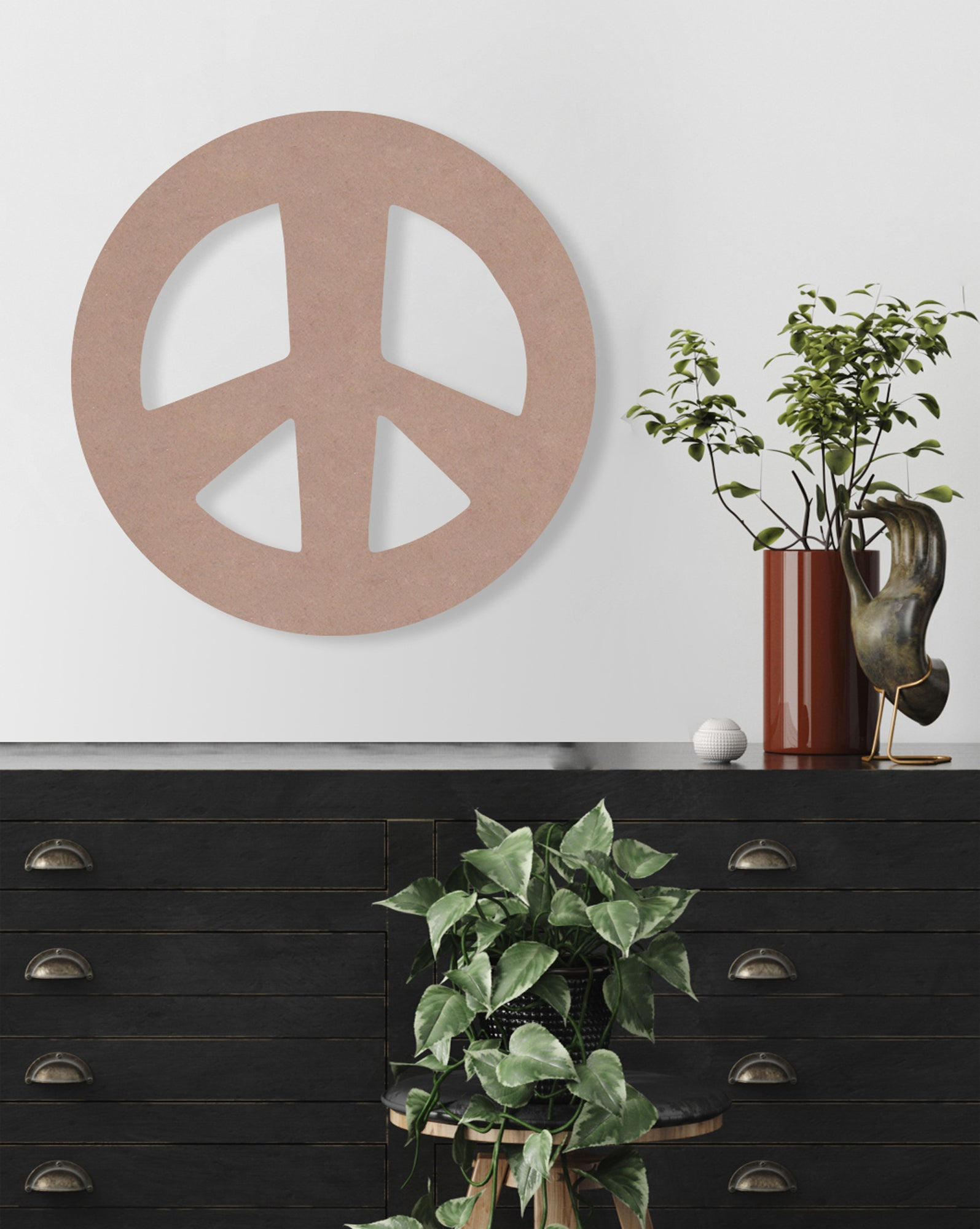 Peace Sign (Rava) (Die Cut) by Rudie Lee