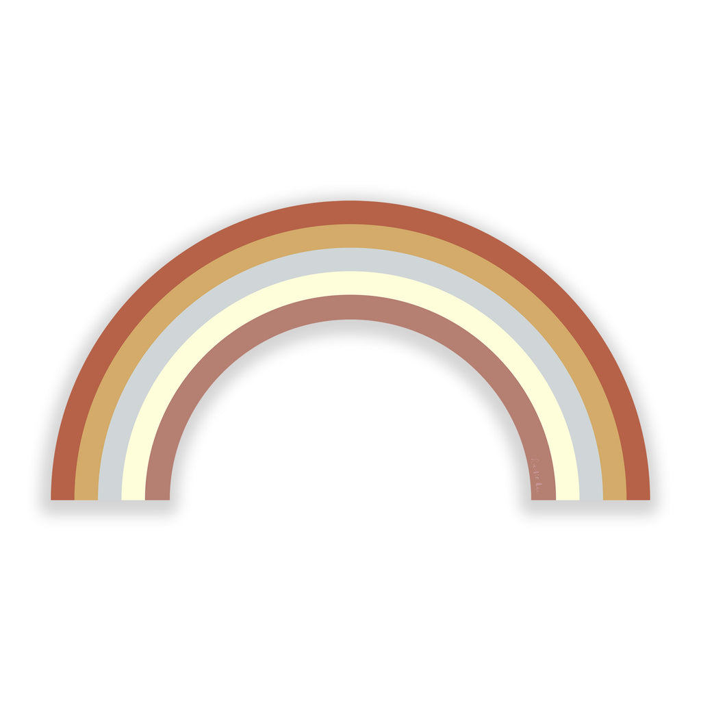 Rainbow (Dust Storm No. 03) by Rudie Lee