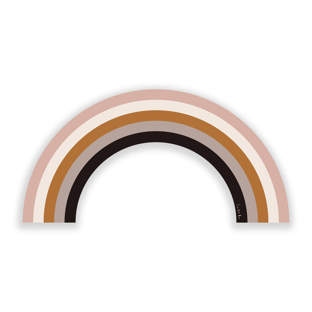 Rainbow (Dust Storm No. 05) by Rudie Lee