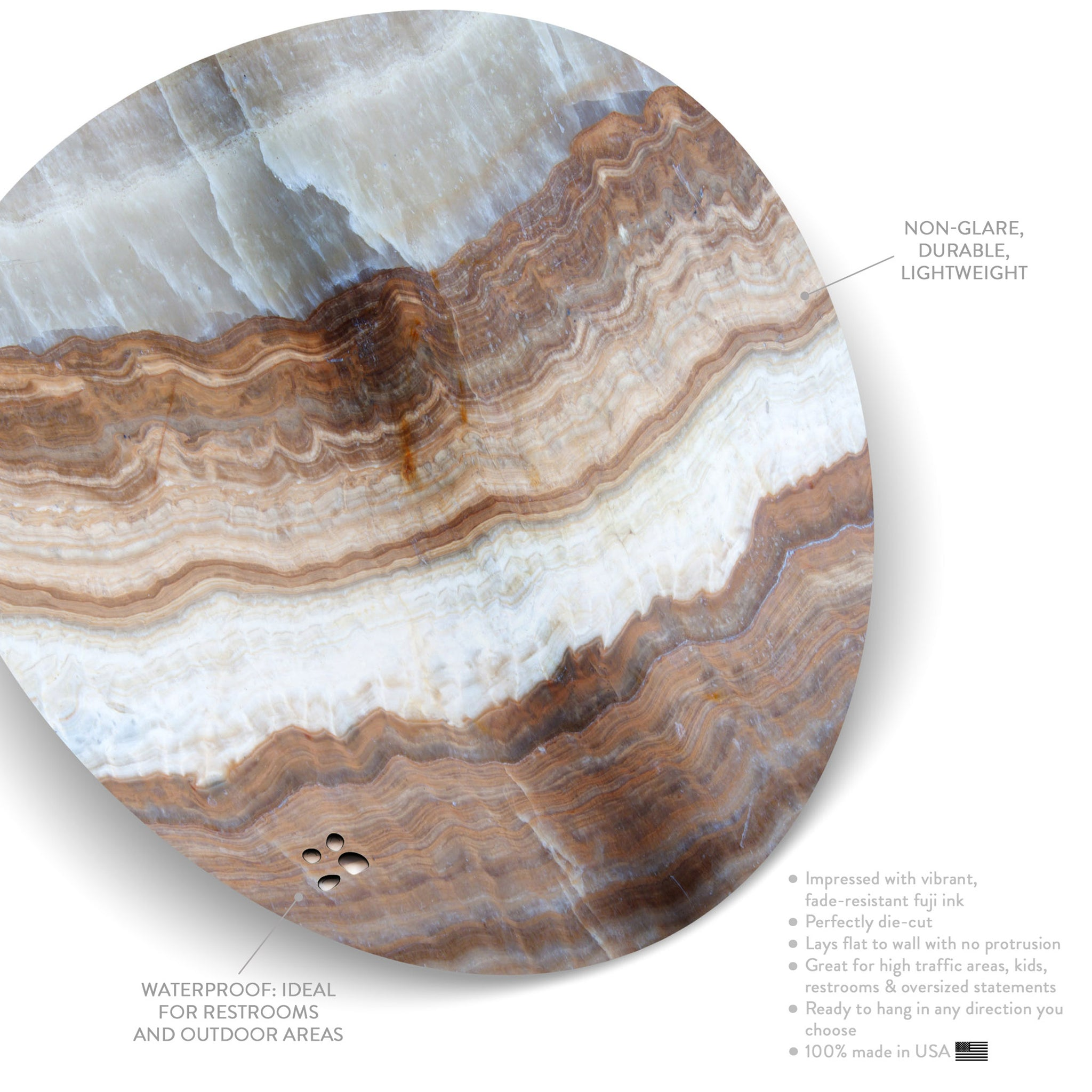 Subcutaneous Earth No. 01 (Circle)