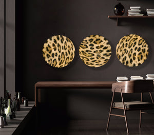 Supple Leopard (Set of 3 Circles)