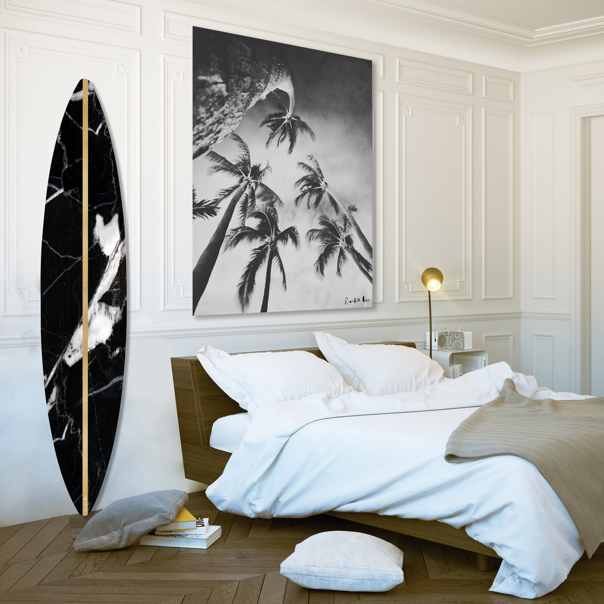 Surfboard (Black Stone) by Rudie Lee