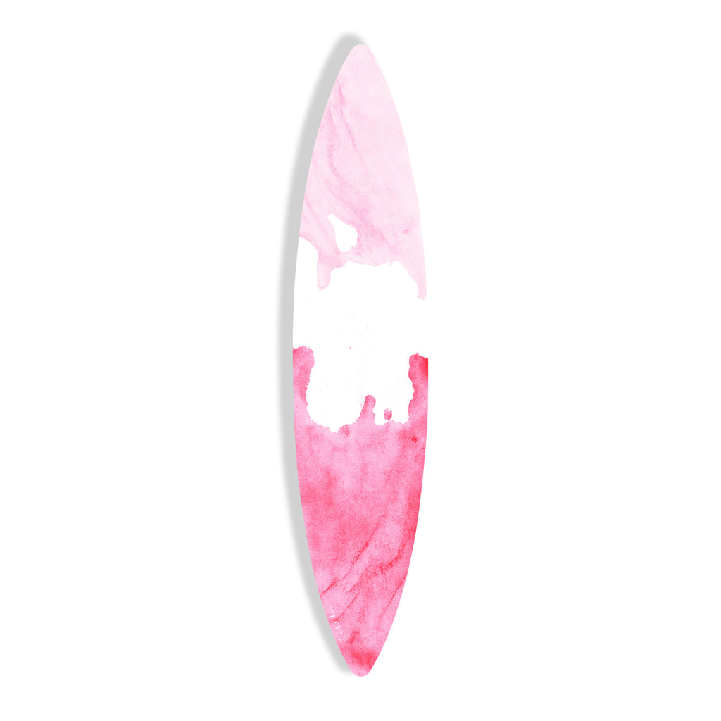 Surfboard (Pink Waves No. 02) by Rudie Lee