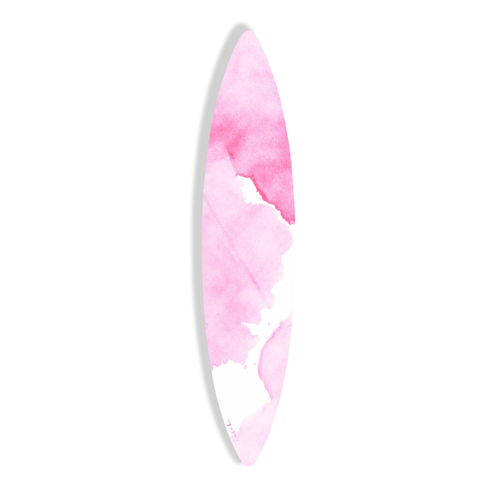 Surfboard (Pink Waves No. 03) by Rudie Lee