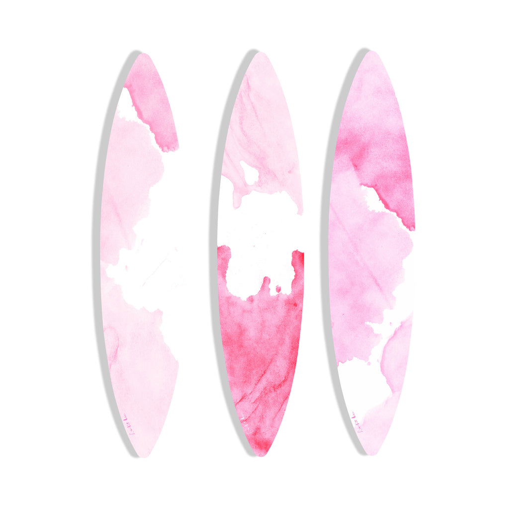 Surfboard (Pink Waves Set) by Rudie Lee