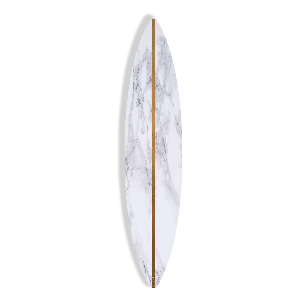 Surfboard (White Stone No. 02) by Rudie Lee