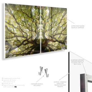 Under the Banyan Tree (Diptych Set)