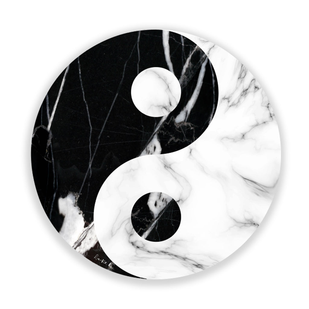 Yin Yang (Black Stone) by Rudie Lee