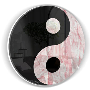 Yin Yang (Pink Stone) by Rudie Lee