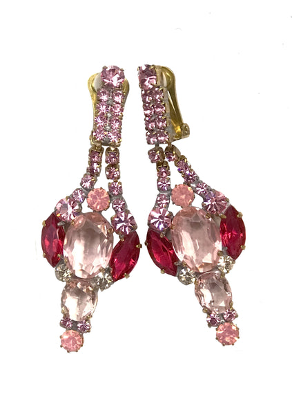 Classic Pink Tourmaline Earrings - New!